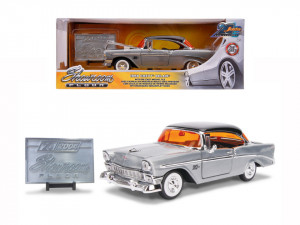 MACHETA METALICA CHEVY BEL AIR 1956 SCARA 1 LA 24