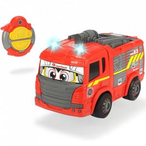 Masina de pompieri Dickie Toys Happy Fire Truck cu telecomanda