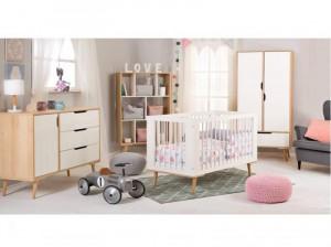 Mobilier Camera copii Si Bebelusi KLUPS SOFIE Alb Natur