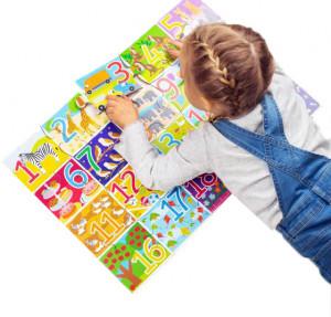 Puzzle de podea cu numere (20 piese)