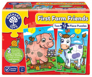 Puzzle Primii Prieteni de la Ferma FIRST FARM FRIENDS