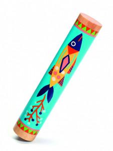 Rainstick din lemn, baton de ploaie Djeco