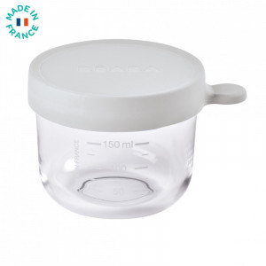 Recipient ermetic sticla 150ml - Gri