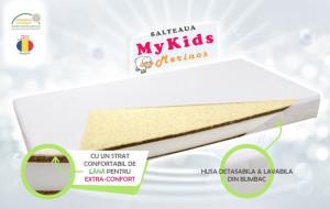 Saltea fibra cocos MyKids Merinos 120x60x11 (cm)