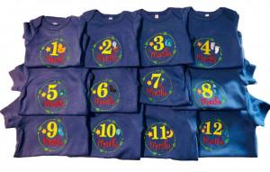 Set 12 body-uri nou nascut