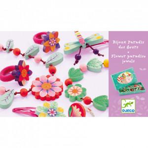 Set bijuterii Djeco Florile paradis