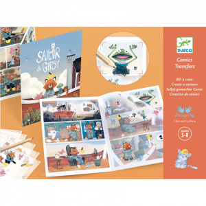 Set creativ, Animatie Djeco, Pe barca
