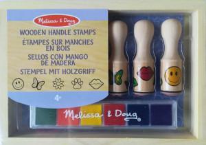Set de stampile Happy Handle Melissa and Doug