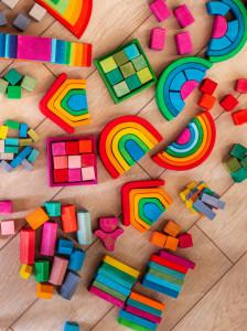 Set Handmade, Cuburi si blocuri in ladita