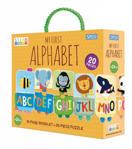 Set STEAM - Invatam alfabetul