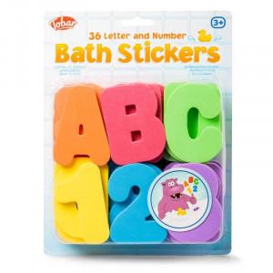 Set stickere din spuma pentru baie