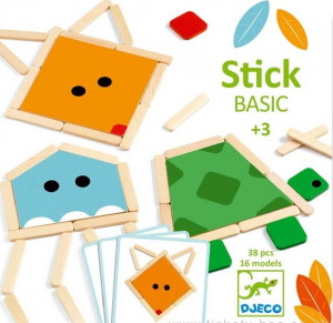 Stick basic, joc educativ Djeco