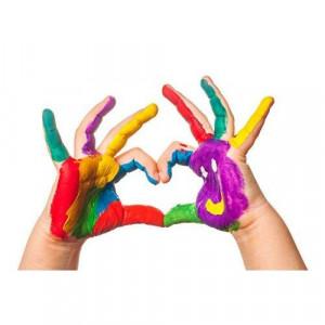 Vopsea pentru pictura cu degetele - MAXI