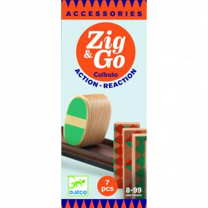 Zig & Go - Culbuto, Rampa set 7 piese