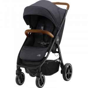 Carucior B-Agile 4 R Black Shadow Brown- Britax