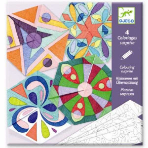 Crafturi din hartie Djeco, Mandala rozete