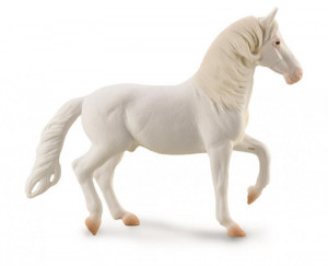 Figurina cal alb Camarillo pictata manual XL Collecta