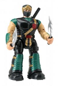 Figurina Ninja cu accesorii