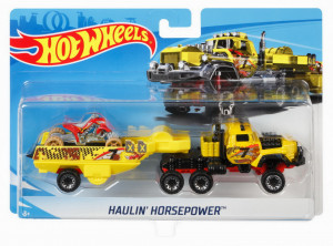 HOT WHEELS SET CAMION SI MASINA HORSEPOWER