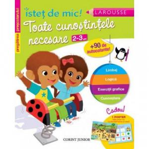 Istet de mic - Toate cunostintele necesare 2-3 ani - Carte povesti pentru copii