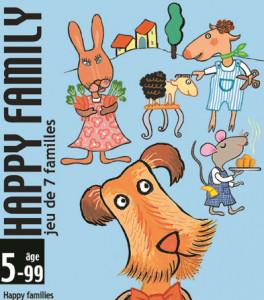 Joc de carti Djeco Happy family