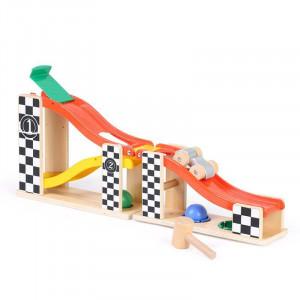 Jucarie de percutie - Masinuta in cursa