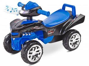 Jucarie ride-on cu sunete si lumini Toyz MINI RAPTOR 2 in 1 Albastra