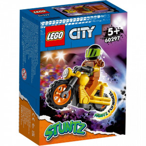 LEGO CITY MOTOCICLETA DE CASCADORIE PENTRU IMPACT 60297