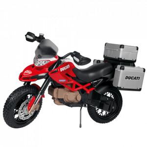 Motocicleta electrica Peg Perego Ducati Enduro, 12V, 3 ani +, Negru / Rosu