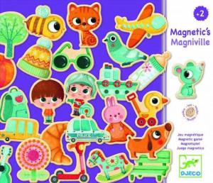 Orasul magnetic Djeco Magniville