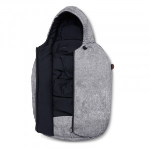 Port Bebe sac Tulip 0-15 luni Graphite grey ABC Design 2020