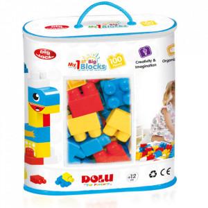 Primele cuburi de construit - 100 piese