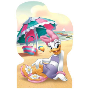 Puzzle 4 in 1 - Minnie si Daisy in vacanta (54 piese)