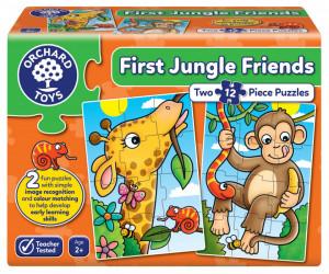 Puzzle Primii Prieteni din Jungla FIRST JUNGLE FRIENDS