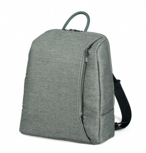 Rucsac Peg Perego City Grey, Gri / Alb