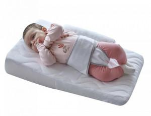 Salteluta pozitionator pentru bebelusi Baby Reflux Pillow White