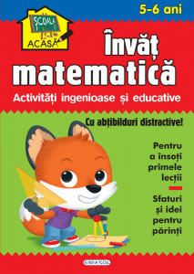 Scoala acasa - Invat matematica 5-6 ani