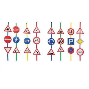 Set 24 semne de circulatie A+B