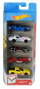 SET 5 MASINI HOT WHEELS MARCA CORVETTE