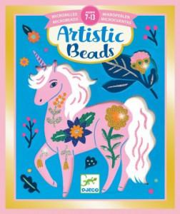 Set creativ cu margele, Animale si flori