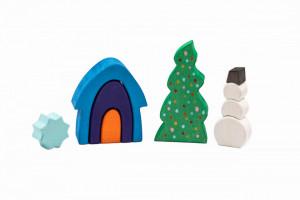Set handmade Marc toys, Iarna din Poveste