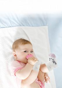 Sosete cu accesoriu dentitie BabyJem Teether Socks