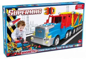 Supermag 3D - Jucarie Cu Magnet Camion