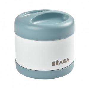 Termos alimente Beaba Thermo-Portion 500 ml White/Blue