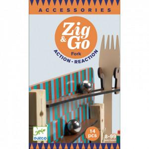 Zig & Go - Fork, Furculita set 14 piese