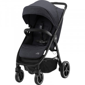 Carucior B-Agile 4 R Black Shadow black- Britax