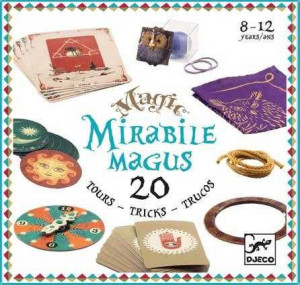 Colectia magica Djeco Mirable Magus, 20 de trucuri de magie