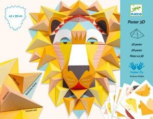 Decoratie mobila camera copil Regele leu Djeco