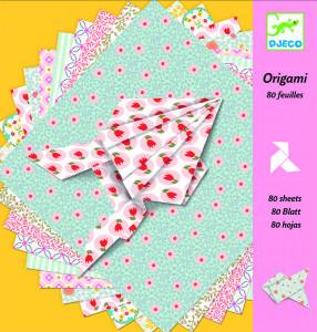 Hartie origami Djeco coli decorative