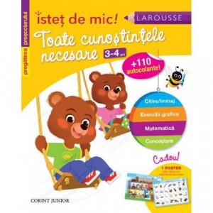 Istet de mic - Toate cunostintele necesare 3-4 ani - Carte povesti pentru copii
